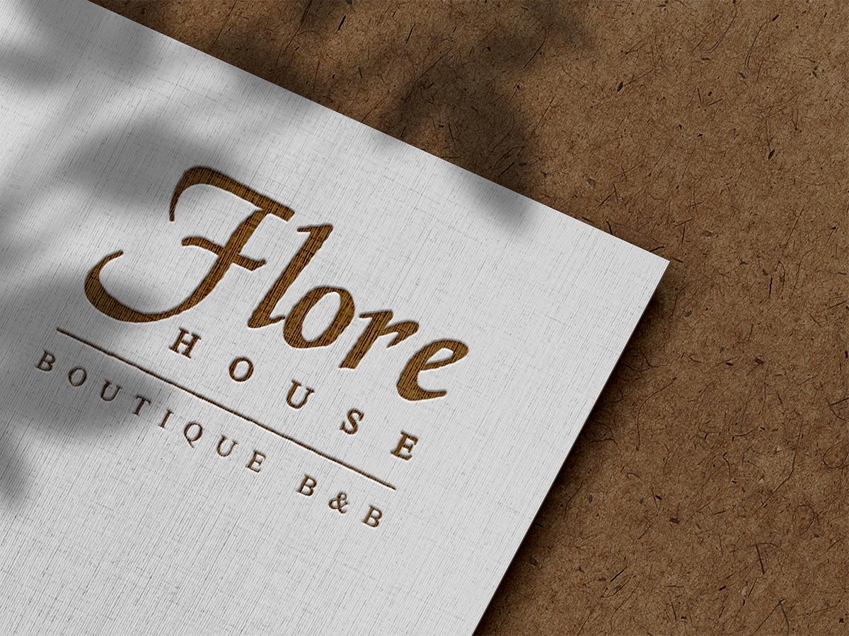 Flore House Logo Design Northampton