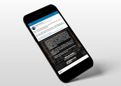 LinkedIn Testimonial Graphics - Bespoke Design