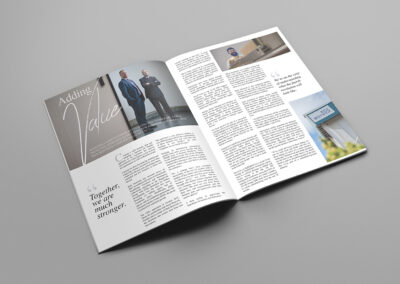 Magazine Advertorial Design | Nerve
