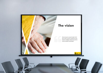 Presentation and Pitch Deck Design