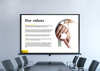 Presentation and Pitch Deck Design Services