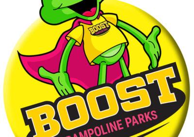 Sticker Design for Boost Northampton
