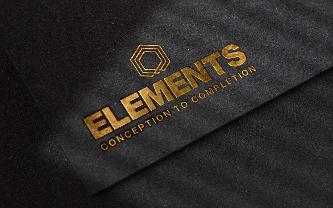 Logo Design for Thrapston Based Elements Construction