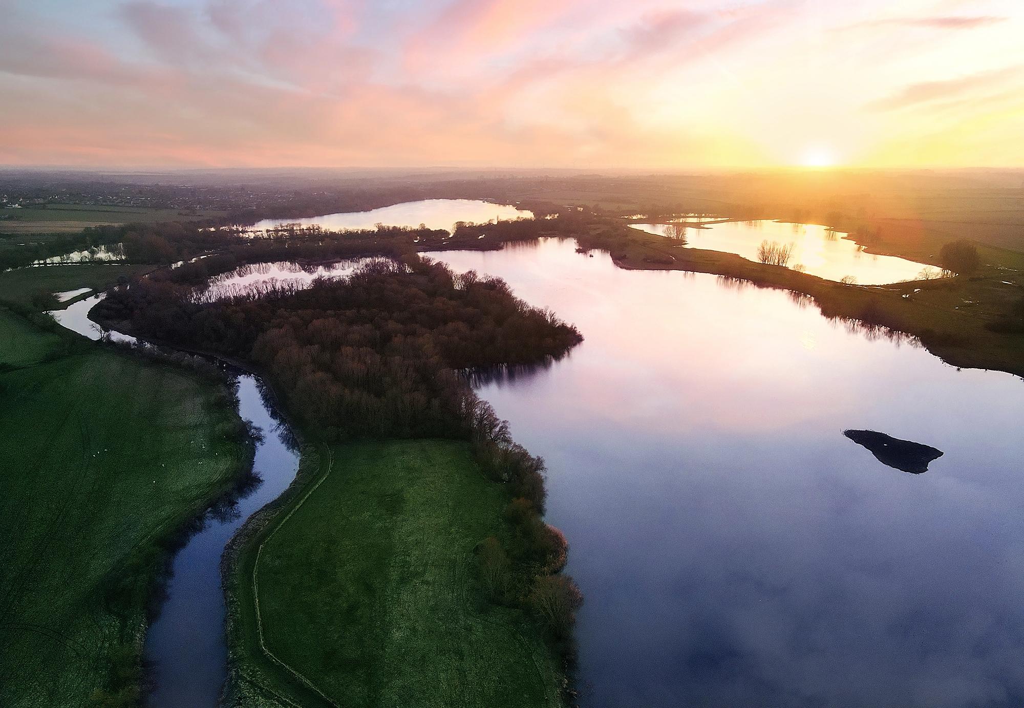 Aerial Photography - Thrapston Lakes